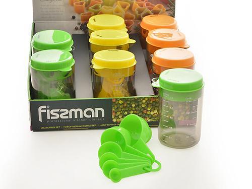 Набор мерных емкостей 8 пр. (пластик) Fissman 7526 (1)