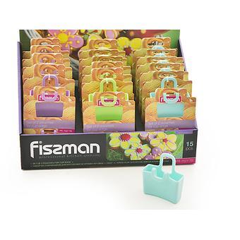 Набор из 2 кармашков для крепления на кромку кружки (силикон) Fissman 7527 - Minim