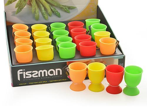 Подставка для яйца 5x7 см (силикон) Fissman 7530 (1)