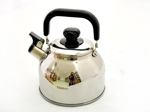 Чайник для кипячения воды Fissman LEDUC 1,7 л (нерж. сталь) 5929 (1)