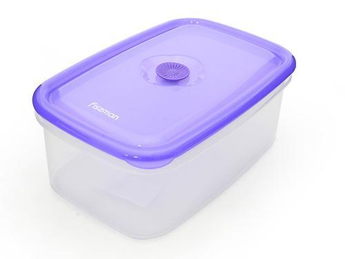 Прямоугольный контейнер для хранения продуктов 24x16x9,6 см / 2,2 л (пластик) Fissman 6775 (1)