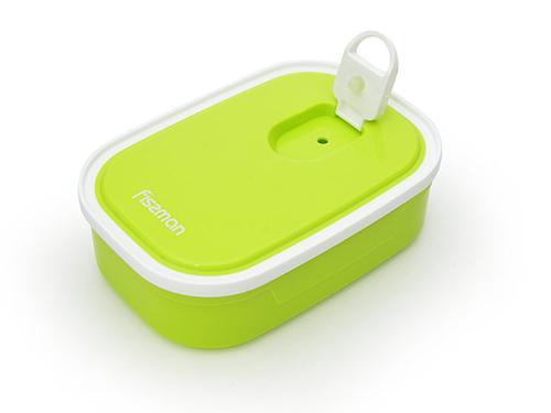 Прямоугольный контейнер для хранения продуктов 15,5x10,7x4,7 см / 0,42 л (пластик) Fissman 6781 (3)