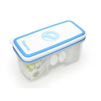 Прямоугольный контейнер для хранения продуктов 14,8x7,1x7,8 см / 0,48 л (пластик) Fissman 6791 - Minim