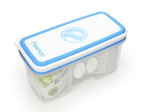 Прямоугольный контейнер для хранения продуктов 14,8x7,1x7,8 см / 0,48 л (пластик) Fissman 6791 (3)