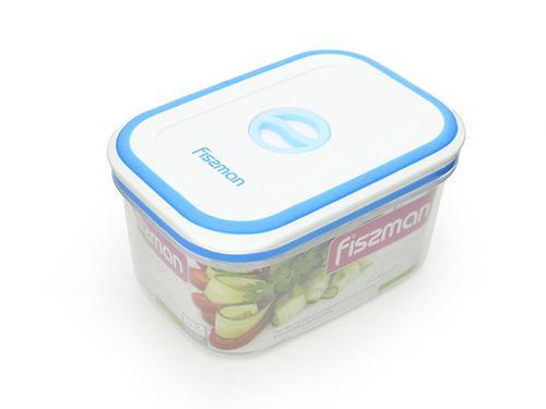 Прямоугольный контейнер для хранения продуктов 14,8x10,6x7,8 см / 0,8 л (пластик) Fissman 6793 (3)