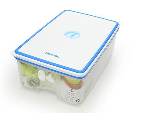 Прямоугольный контейнер для хранения продуктов 24,3x16,4x9,3 см / 2,7 л (пластик) Fissman 6799 (3)