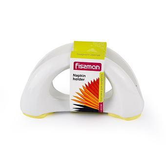 Подставка для салфеток 16x8 см на силиконовом основании, цвет ПАЛЕВЫЙ (керамика) Fissman 8833 - Minim