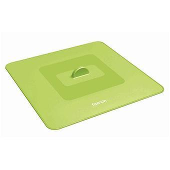 Универсальная квадратная крышка 32 см (силикон) Fissman 8846 - Minim