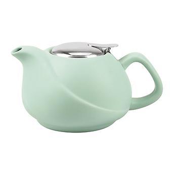Заварочный чайник 750 мл с ситечком, цвет АКВАМАРИН (керамика) Fissman 9322 - Minim