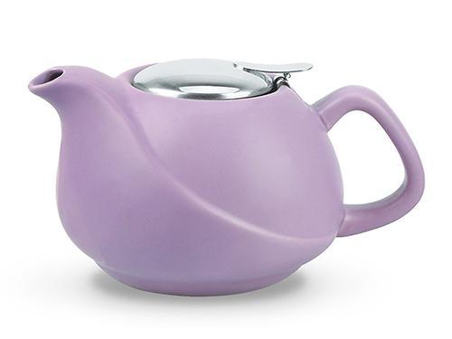 Заварочный чайник 750 мл с ситечком, цвет ЛИЛОВЫЙ (керамика) Fissman 9326 (1)