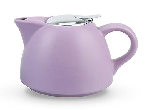 Заварочный чайник 1000 мл с ситечком, цвет ЛИЛОВЫЙ (керамика) Fissman 9327 (1)