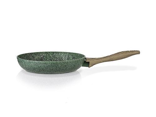 Сковорода для жарки MALACHITE 20x4,5 см с индукционным дном (алюминий с антипригарным покрытием) Fissman 4310 (1)