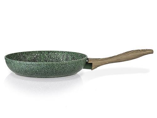 Сковорода для жарки MALACHITE 28x5,4 см с индукционным дном (алюминий с антипригарным покрытием) Fissman 4313 (1)