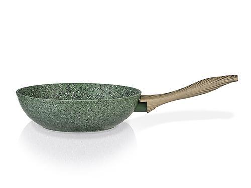 Сковорода-вок MALACHITE 28x8 см с индукционным дном (алюминий с антипригарным покрытием) Fissman 4315 (1)