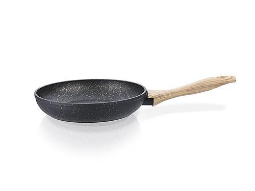 Сковорода для жарки Fissman BLACK COSMIC с индукционным дном (алюминий с антипригарным покрытием) 4341 (1)