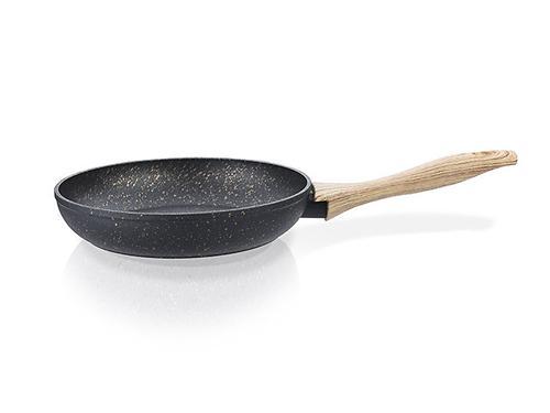 Сковорода для жарки BLACK COSMIC 26x5,2 см с индукционным дном (алюминий с антипригарным покрытием) Fissman 4342 (1)