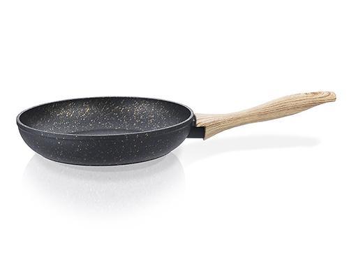 Сковорода для жарки BLACK COSMIC 28x5,4 см с индукционным дном (алюминий с антипригарным покрытием) Fissman 4343 (1)