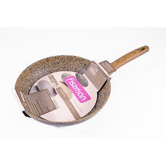 Сковорода для жарки IMPERIAL GOLD 28x5,5 см с индукционным дном (алюминий с антипригарным покрытием) Fissman 4361 - Minim