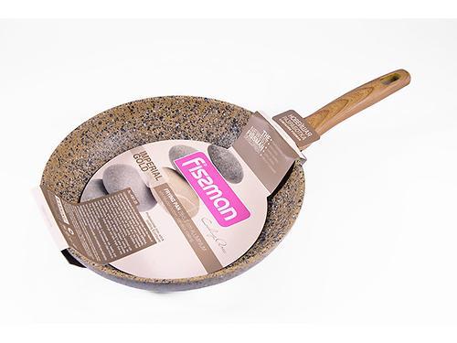 Сковорода для жарки IMPERIAL GOLD 28x5,5 см с индукционным дном (алюминий с антипригарным покрытием) Fissman 4361 (1)