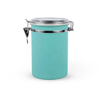 Банка для сыпучих продуктов 12,5x19 см / 1,8 л (нерж. сталь) Fissman 6767 - Minim