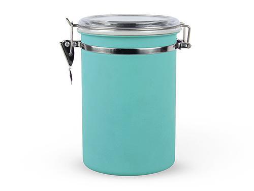 Банка для сыпучих продуктов 12,5x19 см / 1,8 л (нерж. сталь) Fissman 6767 (1)