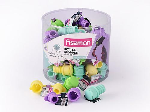 Пробка для бутылки с крышкой (силикон) Fissman 7640 (1)