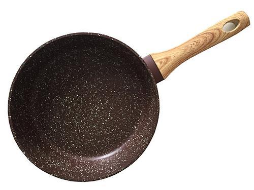 Сковорода для жарки MOSSES STONE 28x7,0 см (алюминий с антипригарным покрытием) Fissman 4298 (1)