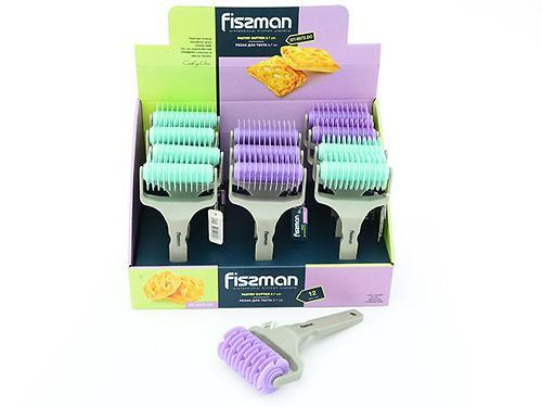 Резак для теста 9,7 см (пластик) Fissman 8572 (3)