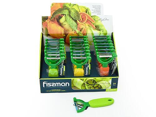 Нож для чистки овощей Fissman Y-форма (нерж. сталь) 8484 (1)