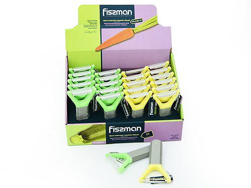 Многофункциональный нож для чистки овощей Fissman Y-форма (нерж. сталь) 8486 (1)