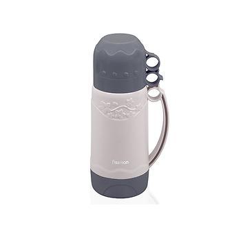 Термос HOPE 1000 мл (пластиковый корпус со стеклянной колбой) Fissman 9706 - Minim