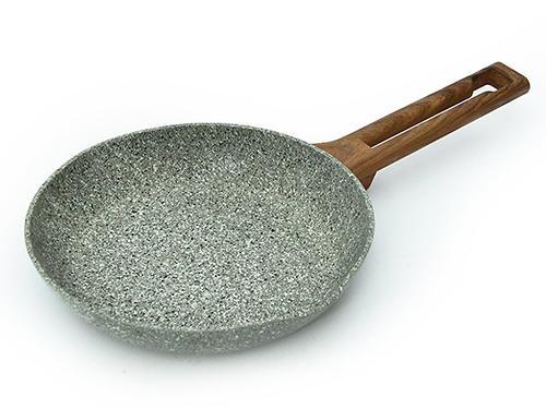 Сковорода для жарки AZURE STONE 20x4 см (алюминий с антипригарным покрытием) Fissman 4486 (1)