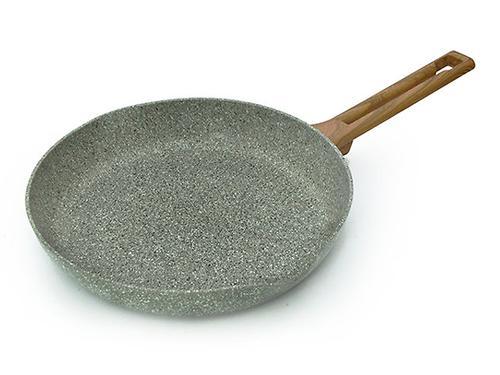 Сковорода для жарки AZURE STONE 28x5 см (алюминий с антипригарным покрытием) Fissman 4488 (1)