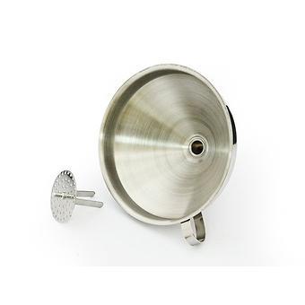 Воронка 14 см со съемным фильтром (нерж. сталь) Fissman 8687 - Minim