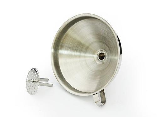 Воронка 14 см со съемным фильтром (нерж. сталь) Fissman 8687 (1)