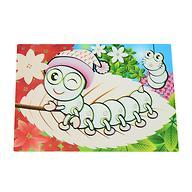 Коврик для рисования водой Fissman Гусеница (пластик) 0642