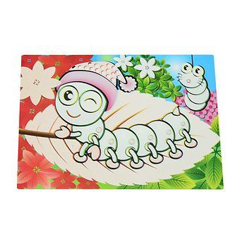 Коврик для рисования водой Fissman Гусеница (пластик) 0642 - Minim