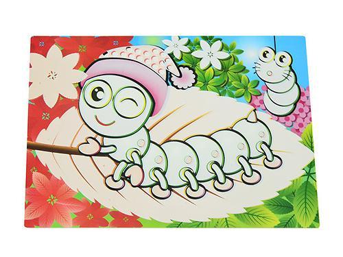 Коврик для рисования водой Fissman Гусеница (пластик) 0642 (1)