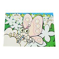 Коврик для рисования водой Fissman Бабочка (пластик) 0644