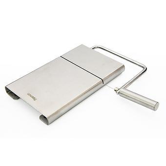 Доска для нарезки сыра 21x12 см со струной (нерж. сталь) Fissman 8679 - Minim