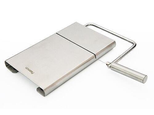 Доска для нарезки сыра 21x12 см со струной (нерж. сталь) Fissman 8679 (1)