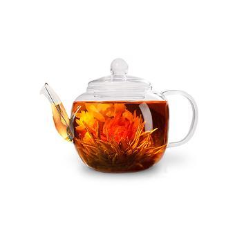 Заварочный чайник LUCKY 500 мл со стальным фильтром (жаропрочное стекло) Fissman 9358 - Minim