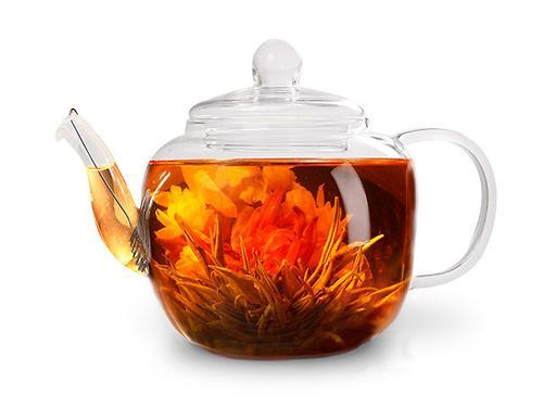 Заварочный чайник LUCKY 800 мл со стальным фильтром (жаропрочное стекло) Fissman 9359 (1)