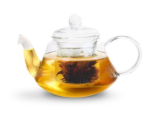 Заварочный чайник LUCKY 800 мл со стеклянным фильтром (жаропрочное стекло) Fissman 9362 (1)