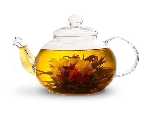 Заварочный чайник LUCKY 800 мл со стальным фильтром (жаропрочное стекло) Fissman 9364 (1)