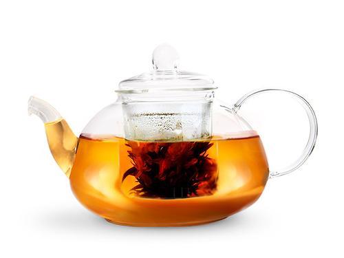 Заварочный чайник LUCKY 1000 мл со стеклянным фильтром (жаропрочное стекло) Fissman 9365 (1)