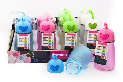 Бутылка для воды 300 мл (пластик) Fissman 6843 (1)