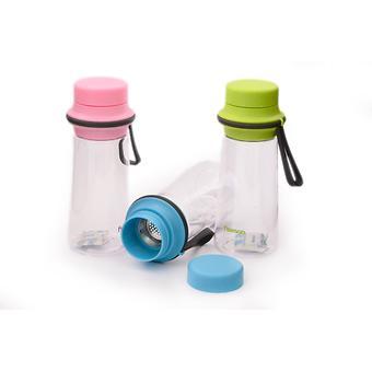 Бутылка для воды 500 мл с фильтром (пластик, нерж. сталь) Fissman 6847 - Minim