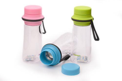 Бутылка для воды 500 мл с фильтром (пластик, нерж. сталь) Fissman 6847 (1)