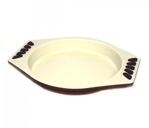 Форма для торта круглая 20 см (углеродистая сталь с керамическим антипригарным покрытием) Fissman 5554 (1)